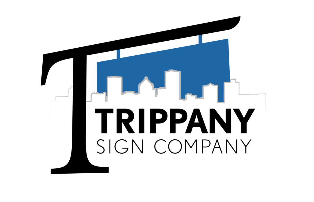 Trippany Sign Company logo, click to go to homepage.